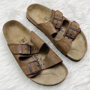 Birkenstock Betula Arizona Leather Strap Sandal